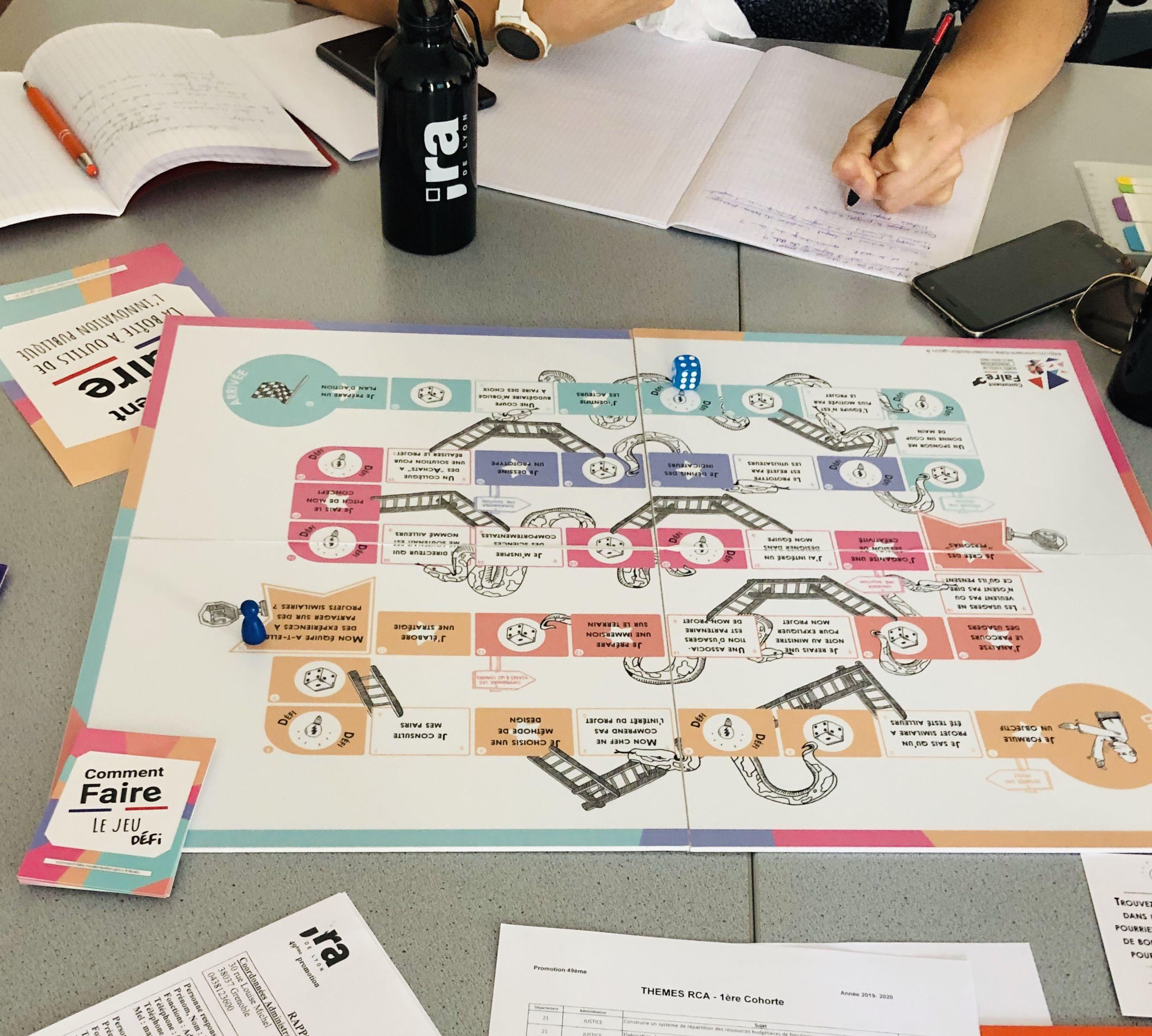 """# INNOVATION PUBLIQUE """"Comment Faire"""" : Le jeu sérieux au service des projets"""
